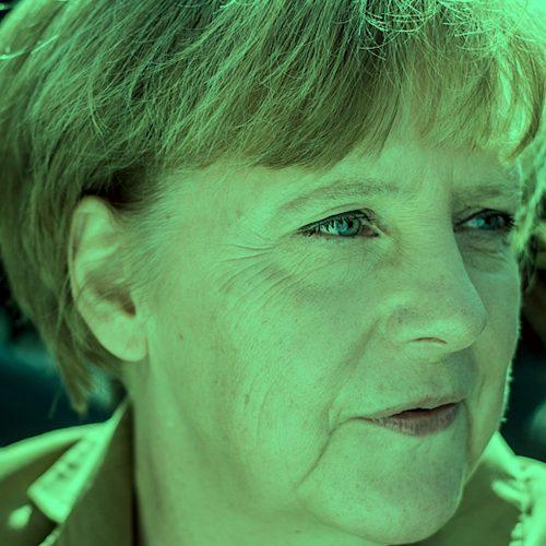 Angela Merkel Green Square