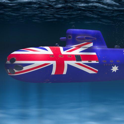 Australian Nuclear Submarine Square