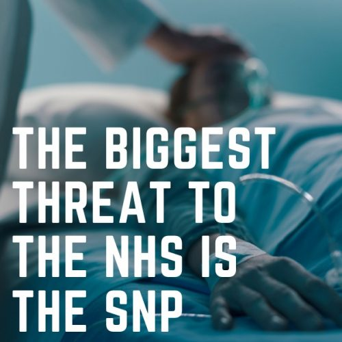 Biggest threat to NHS is SNP Square
