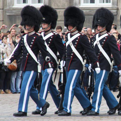 Danish Royal Guard Square