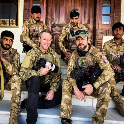 James Glancy in Kandahar Square