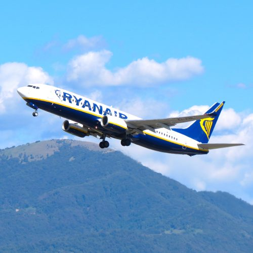 Ryanair aircraft Square