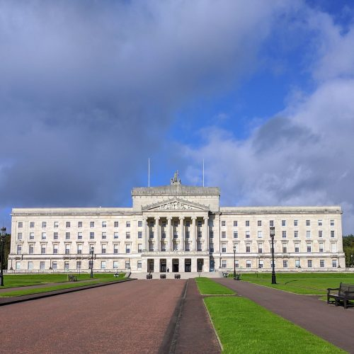 Stormont stormy Square