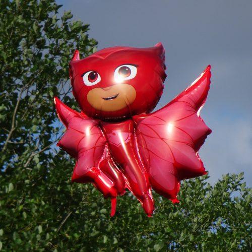 Super hero balloon Square