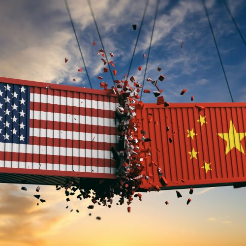 US China containers Square